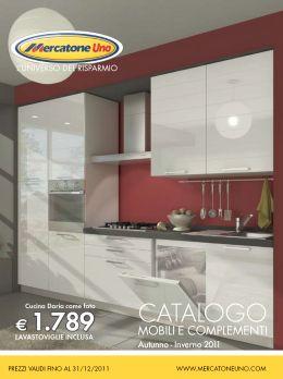 Mercatone uno lancia il nuovo catalogo anche in tv spot for Nuovo arredo cucine catalogo