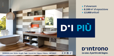 d'introno on air con l'arancia - spot and web - D Introno Arredo Bagno