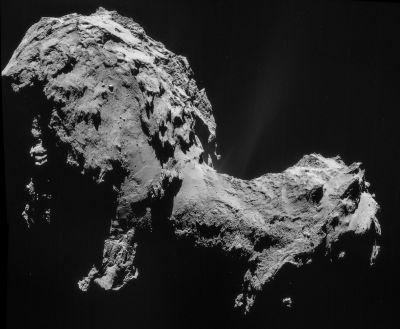 La cometa Churiumov Gerasimenko
