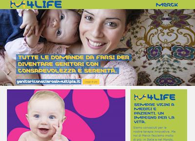 Merck mette online merckforlife.it