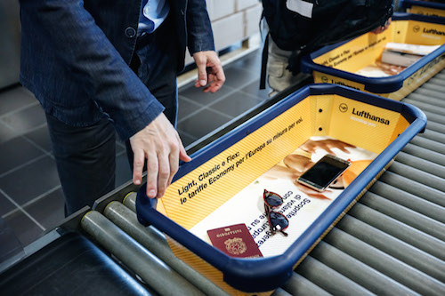 Con Lufthansa e One.Tray si viaggia leggeri