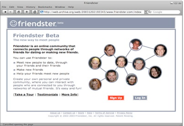 Il nascituro Friendster