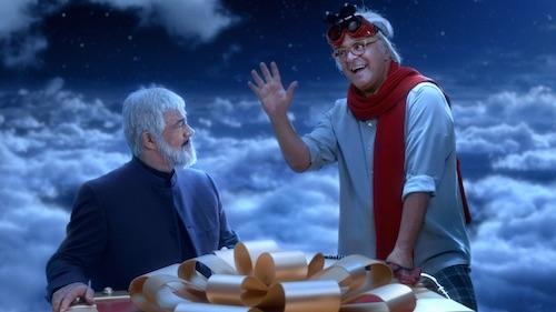 Con Armando Testa, Lavazza e Crozza,  il Natale in Paradiso