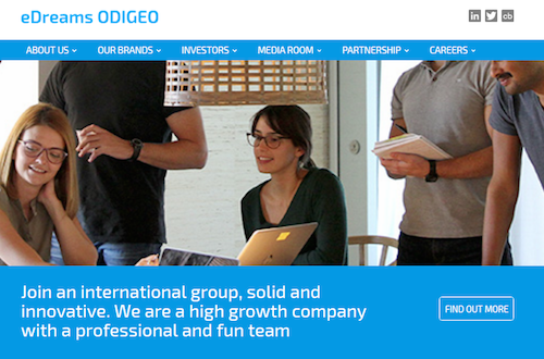 New eDreams ODIGEO Website[1]