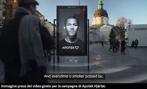 Screen shot campagna Apotek