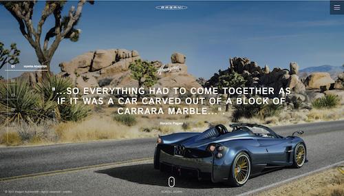 Pagani online con il nuovo sito istituzionale