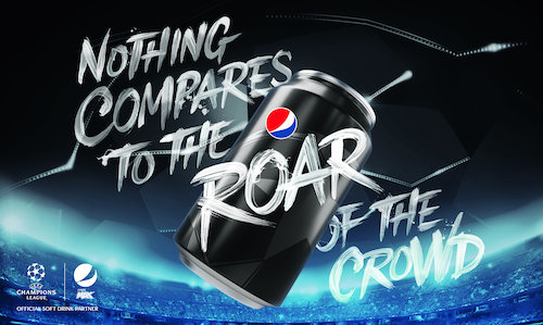 Pepsi MAX Football supporting visual (2)