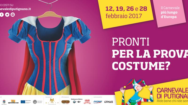 Never Before Italia firma la nuova campagna del Carnevale di Putignano