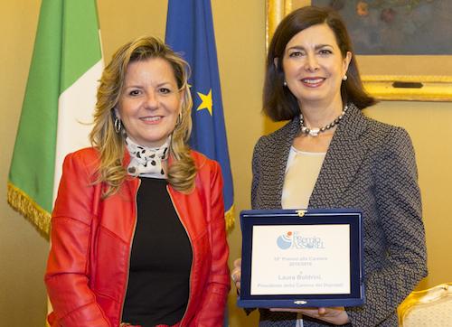 Filomena Rosato e Laura Boldrini[1]