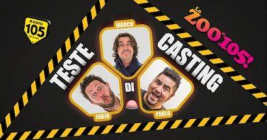 """Con """"Teste di casting"""" Radio 105 sbarca in tv"""