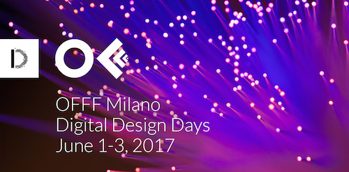Digital design days il meglio dell 39 innovazione torna a for Design days milano