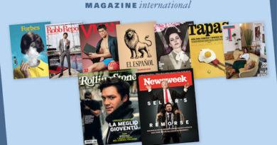 Newsweek fa il suo ingresso nella concessionaria di Luciano Bernardini de Pace, Magazine International