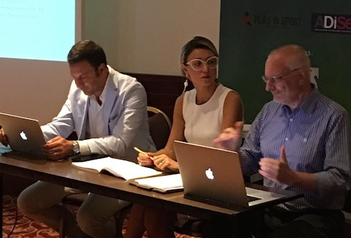 Alessandro Nardone, Irene Colombo, Guido Giraudo