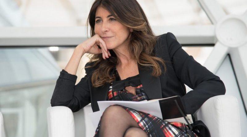 """Ilaria Dallatana (Direttore Rai2) presenta la nuova stagione di """"Quelli che il calcio""""."""