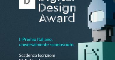 DIGITAL DESIGN AWARD 2017 Il premio italiano, universalmente riconosciuto