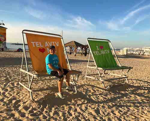 Tel Aviv ha 14 chilometri di litorale