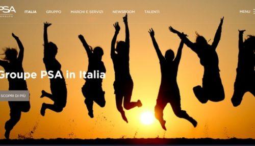 Sito PSA Homepage