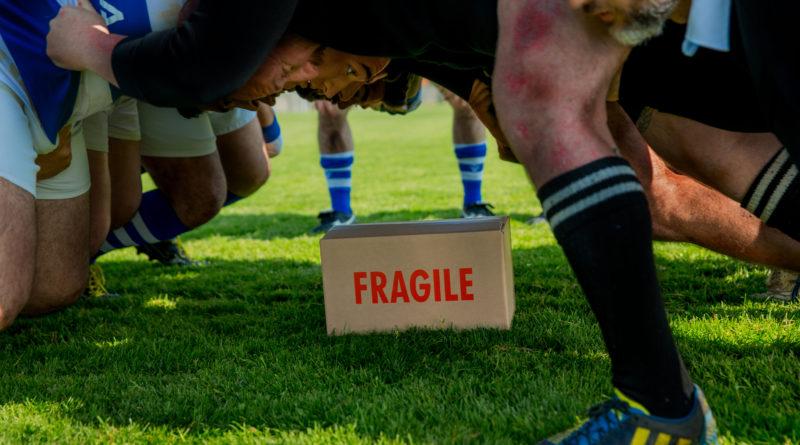Nuova campagna pubblicitaria con i giocatori di rugby per Rajapac