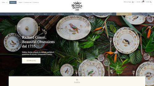 Richard Ginori - Home page sito