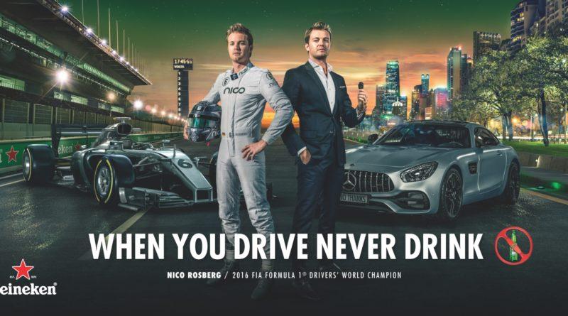 Nico Rosberg WYDND Heineken