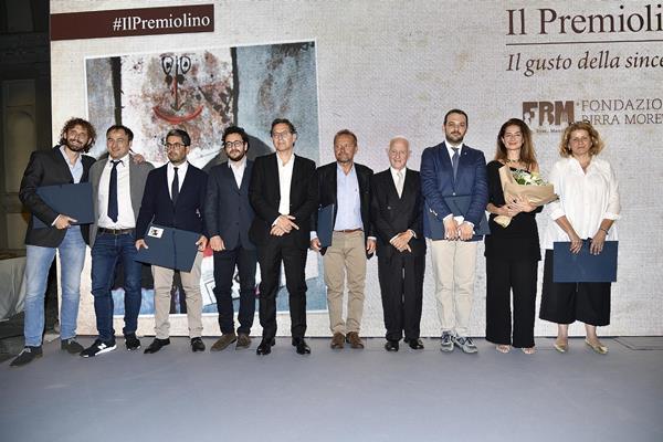 I vincitori della 58ma edizione del Premiolino. Milano, 20 Giugno 2018. ANSA/FLAVIO LO SCALZO