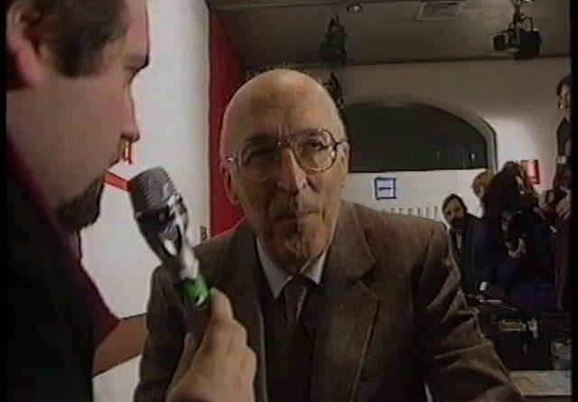 Francesco Pira e il giudice Antonino Caponnetto intervista Videomusic