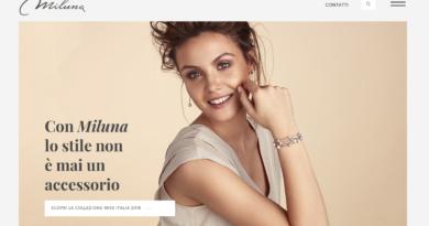 Nuovo spot, sito web e immagine social per Miluna