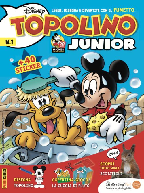 Topolino Jr Cover #1