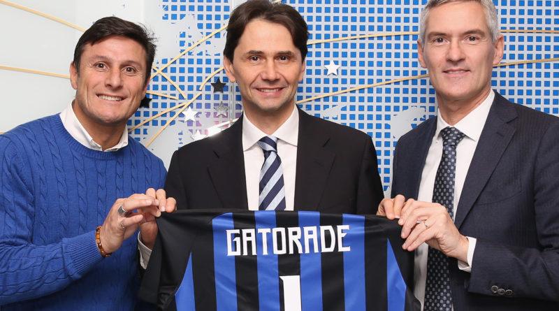 FC Internazionale Unveils New Partnership With Gatorade