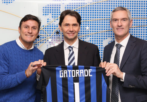 FC Internazionale Unveils New Partnership With Gatorade