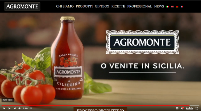 Hompage Agromonte