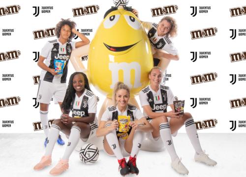 JuventusWoman_M&M's_