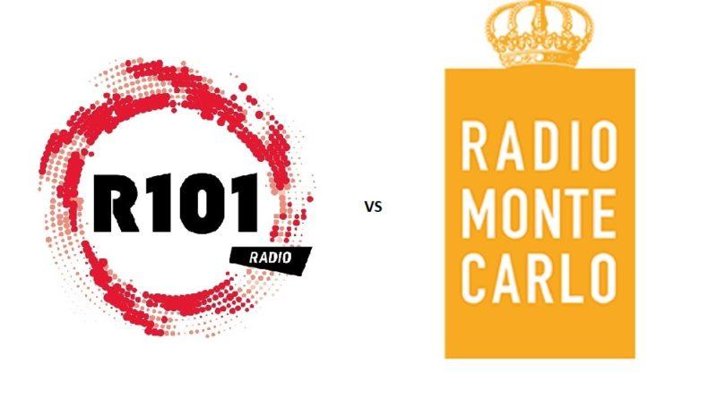 Analisi competitor: R 101 vs Radio Montecarlo