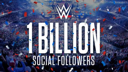 La WWE supera un miliardo di follower sui social media