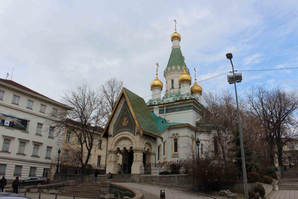 La chiesa russa di San Nicola