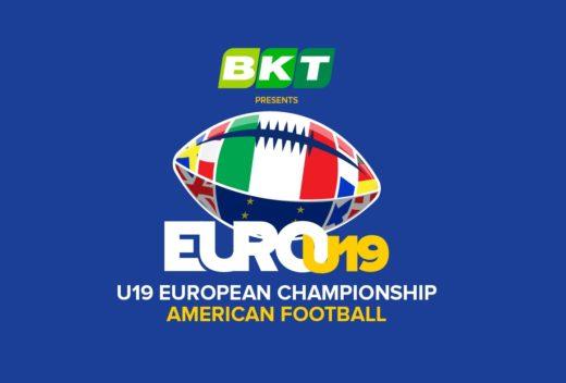Logo Europei U19 + BKT