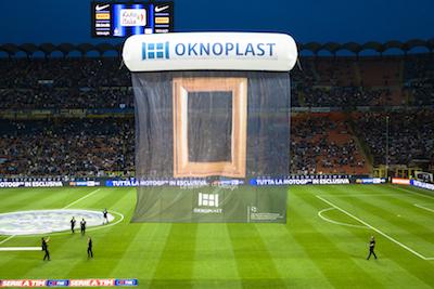 Oknoplast Evento Inter Napoli -Fly Banner