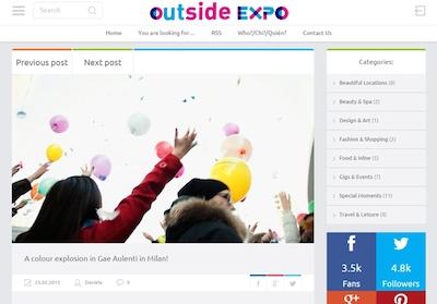 Outside Expo-post-flashmob