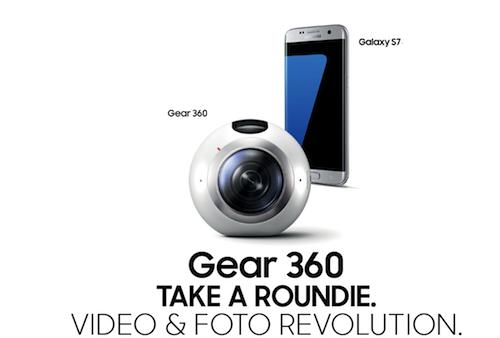 Gear 360 - FATTI UN ROUNDIE -