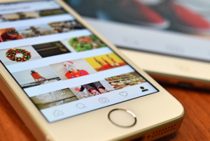 Profilo Instagram su mobile
