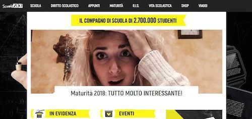 HomePage sito ScuolaZoo