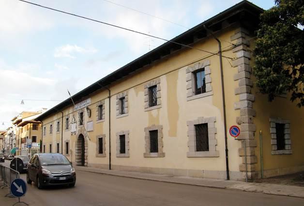 05. caserma Montezemolo a Palmanova UDINE