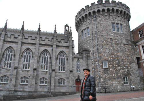 Il castello di Dublino, una fortezza normanna voluta da Giovanni Senza Terra. E' stato per lungo tempo il simbolo dell'oppressione inglese