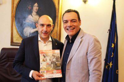 Alessandro Morelli con Igor Righetti