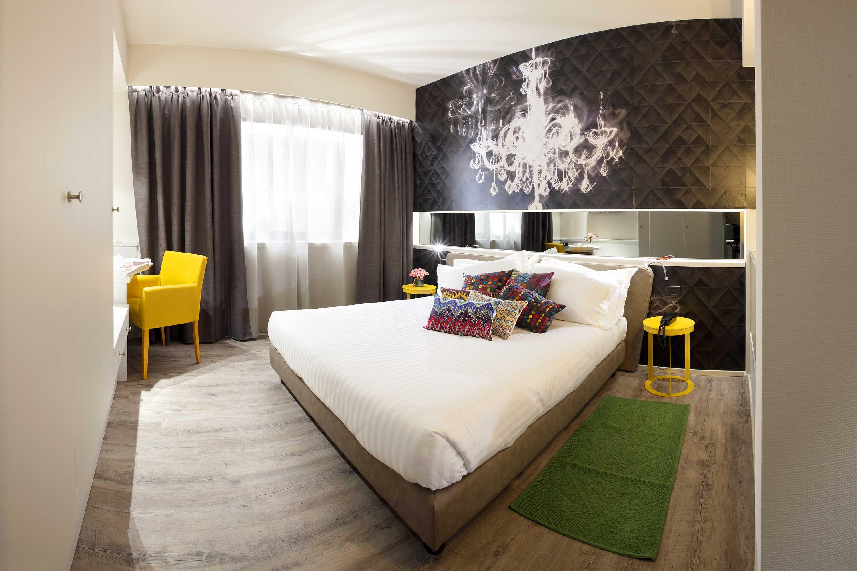 Una camera di un hotel Best Western in Italia