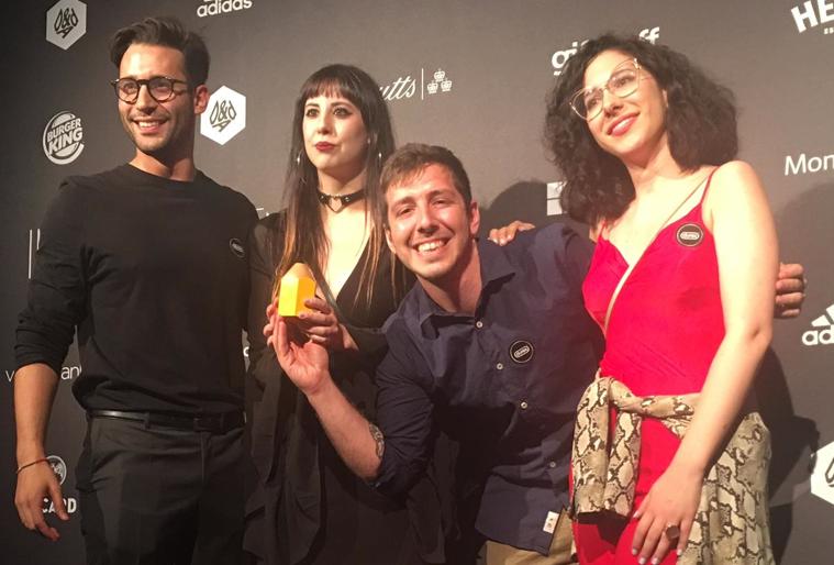 Francesca Lollino, Celeste Caiello, Marco Manni e Nicolò Danesi